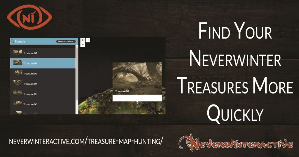 Neverwinter Treasure Maps Hunting promotional image for Neverwinteractive